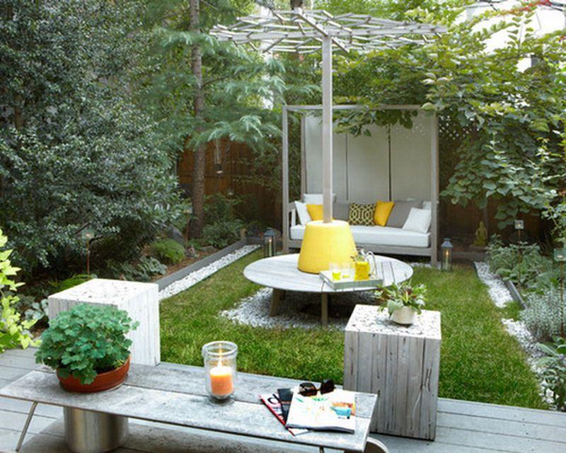 20 Tiny But Really Charming Backyard Designs - Page 2 de 3 ...