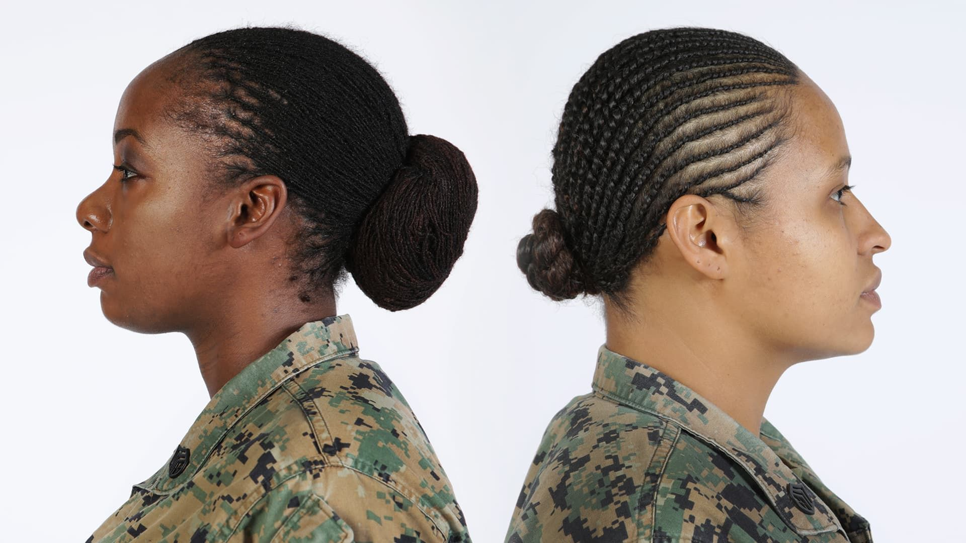 Hairstyles For Women Military Hairstyles Military Hair Womens Hairstyles Twist Hairstyles