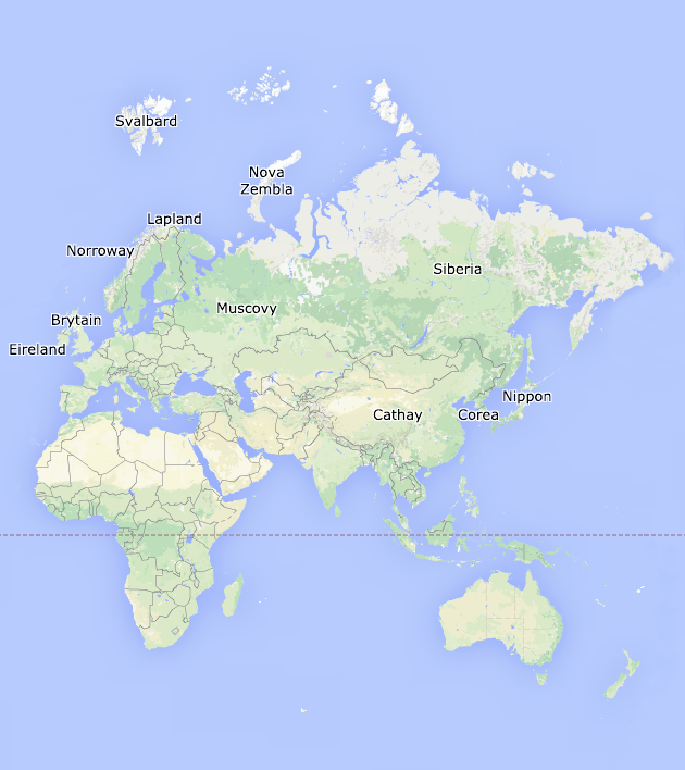 Lyra's world in Google Maps [x...