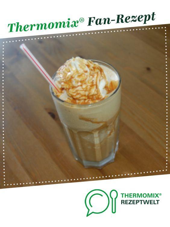 Eiskaffee Cafe Frappe - Frappuccino Art #fruitsmoothie