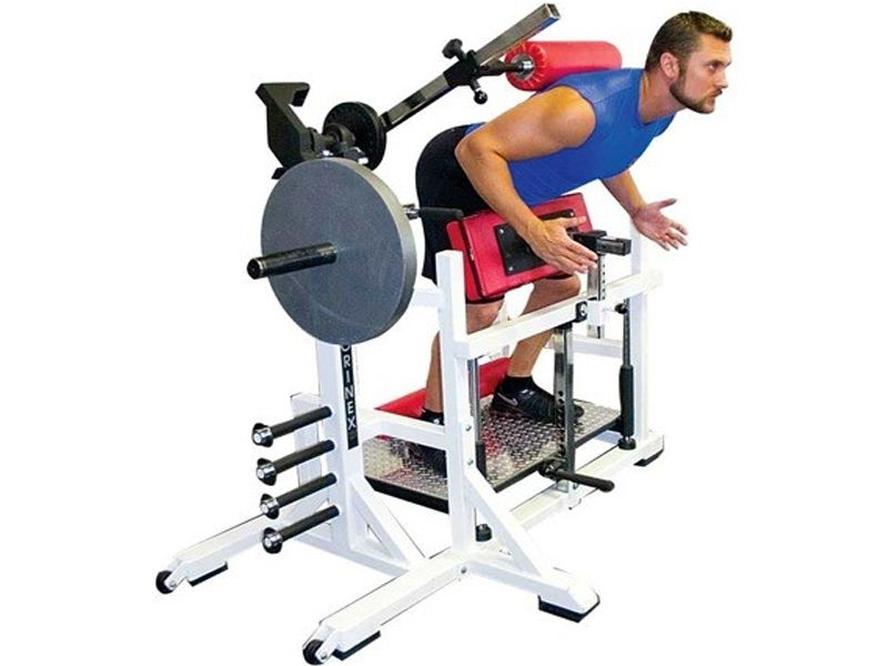 10f4db4b4068 Back Attack (Plate Load) Super sized w  bands