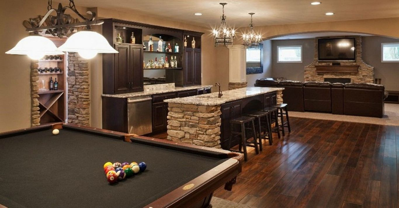 25 Awesome Man Cave Ideas For 2018 Basement Remodeling