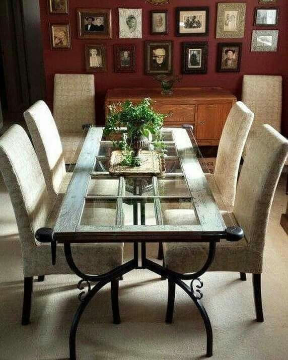 Pin By Norma O Neill On Shabby Chic In 2020 Unique Dining Tables