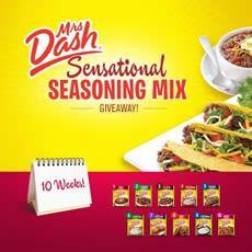 FREE Mrs. Dash Seasoning Mix Sample on http://www.icravefreebies.com/