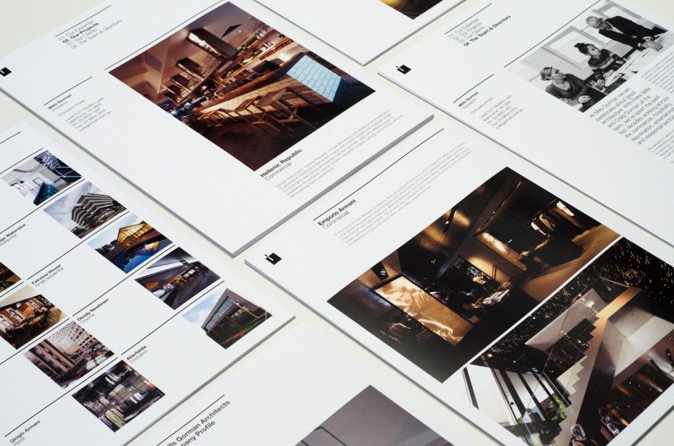 Principle Design was commissioned by Mills Gorman to craft their website and print collateral