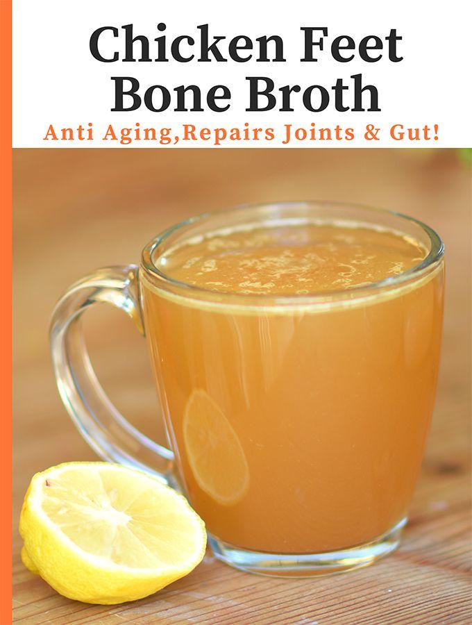 My Super Simple Chicken Bone Broth Recipe Bone Broth Recipe Chicken Bone Broth Recipe Broth Recipes