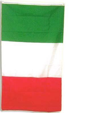 """New 3x5 National Flag of Italy Italian Country Flags by NationalCountryFlags. $2.42. The National Flag of Brazil has a green field on which is centered a large yellow rhombus, with white stars of five different sizes and a curved white band running through it. The motto Ordem e Progresso (""""Order and Progress"""") is inscribed in capital letters (of the same shade of green as the field) inside the band. This flag is sometimes called Auriverde which means """"(of) gold and gr..."""