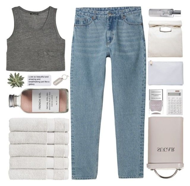 """END OF THE H5K CONTEST!"" by trnslucid ❤ liked on Polyvore featuring MANGO, Monki, Christy, French Girl, Chanel, Garden Trading, Nails Inc., Muji, Jil Sander and Limi Feu"