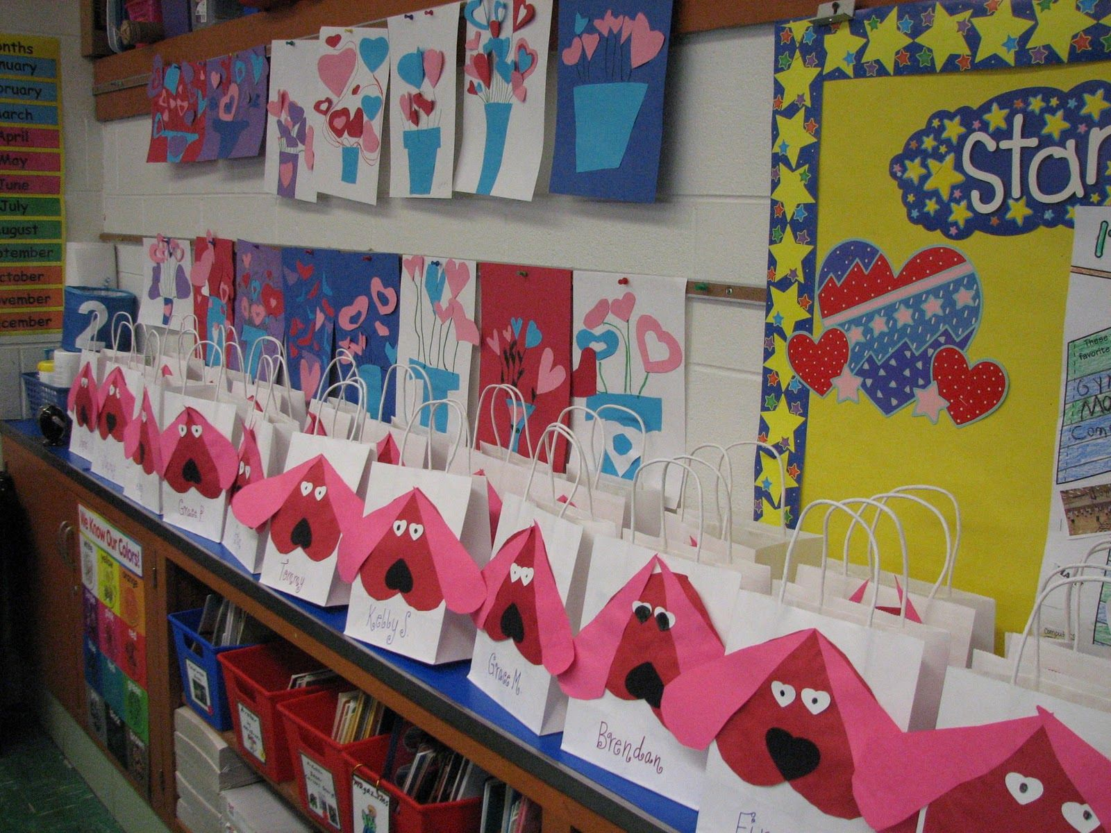 Valentine\'s Day Crafts For Second Graders. Dew Drop Into First ...