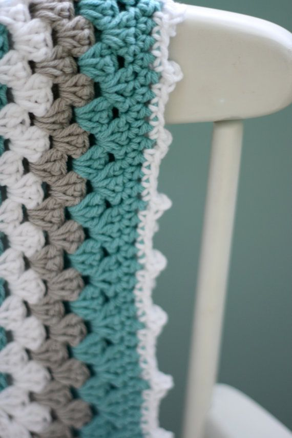 Daisy Cottage Designs Granny Square Blanket Crochet Pattern Granny