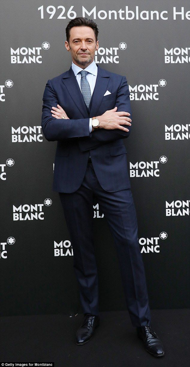c78a10605 Hugh Jackman attends Montblanc Heritage launch in Florence | Hugh ...