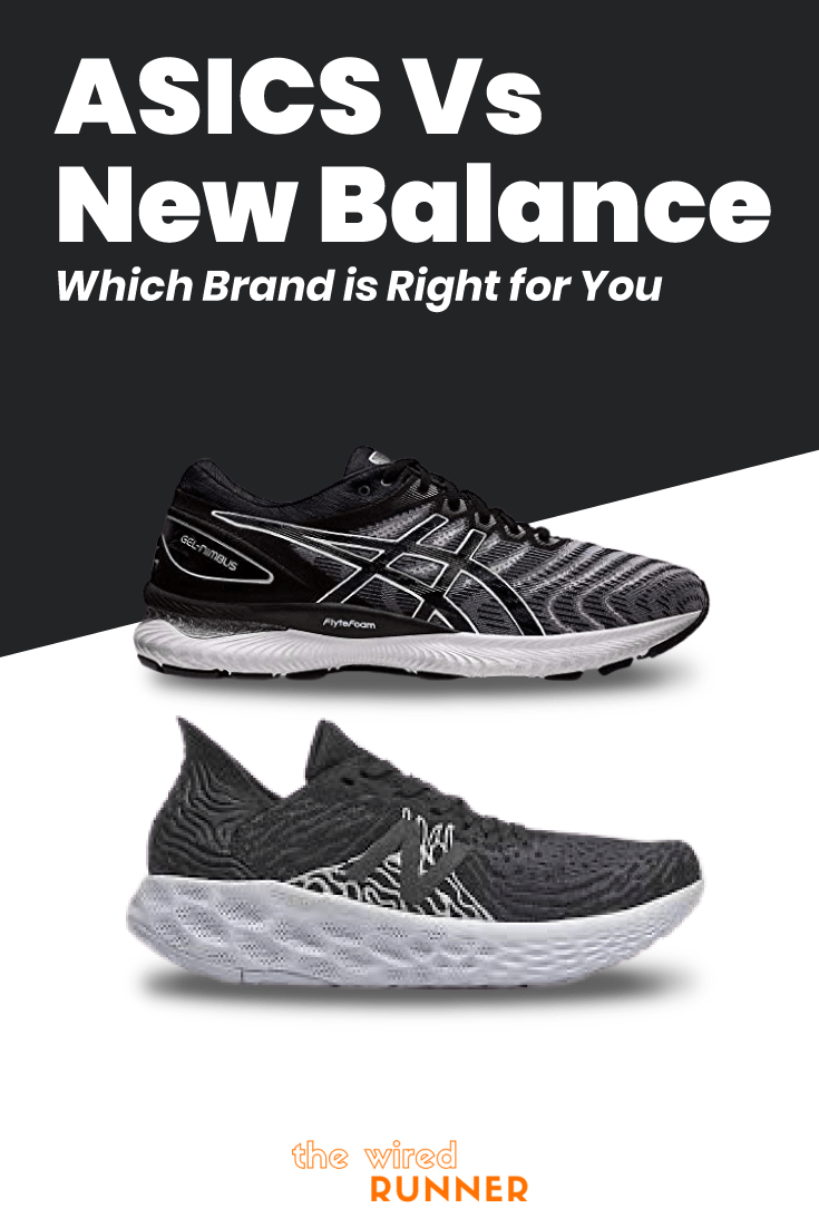 cosecha Escritura laringe  ASICS Vs New Balance - Which Brand Is Right For You? | Mens running gear,  Womens running gear, Asics running shoes gel