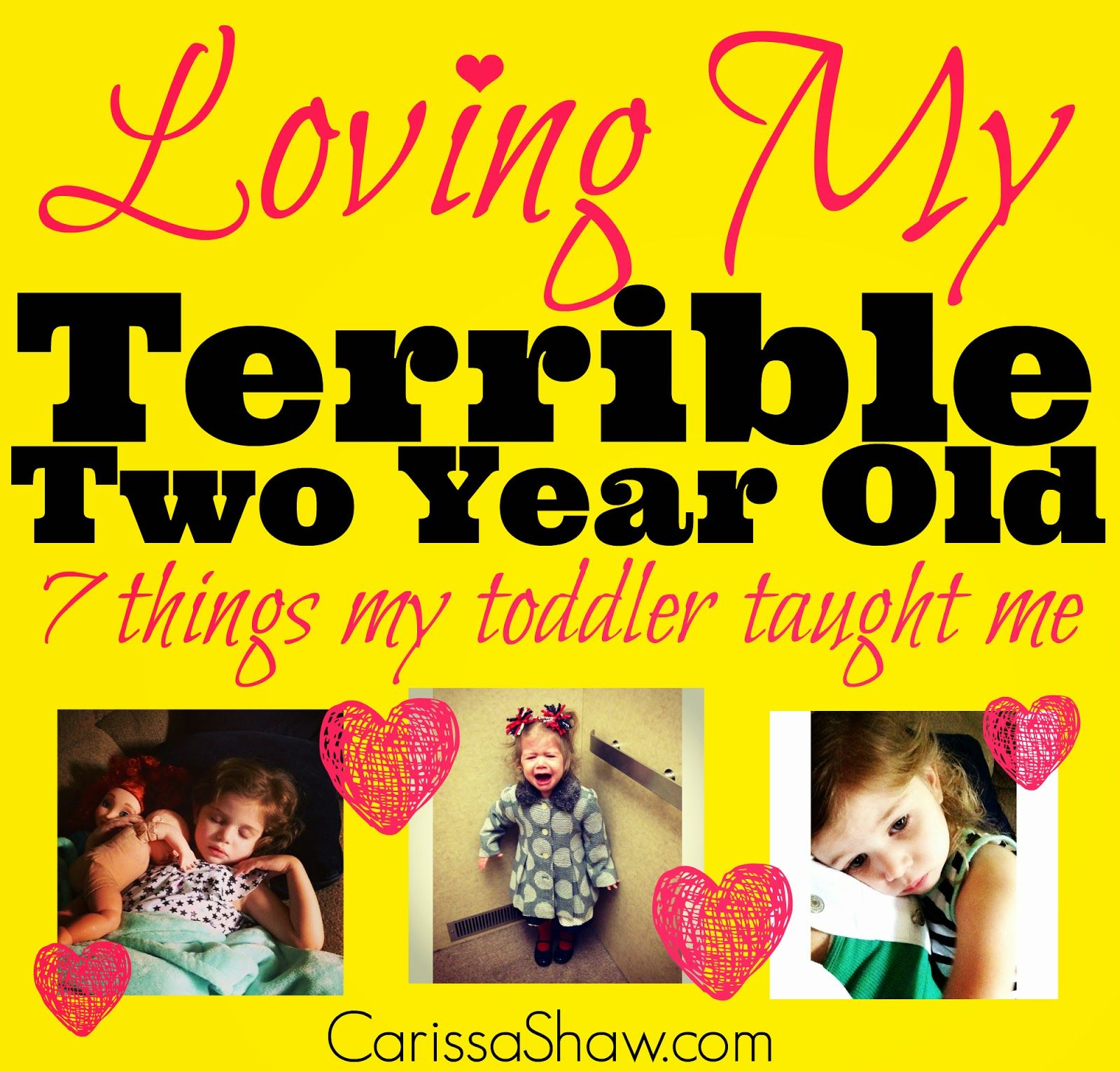 Loving My Terrible Two Year Old