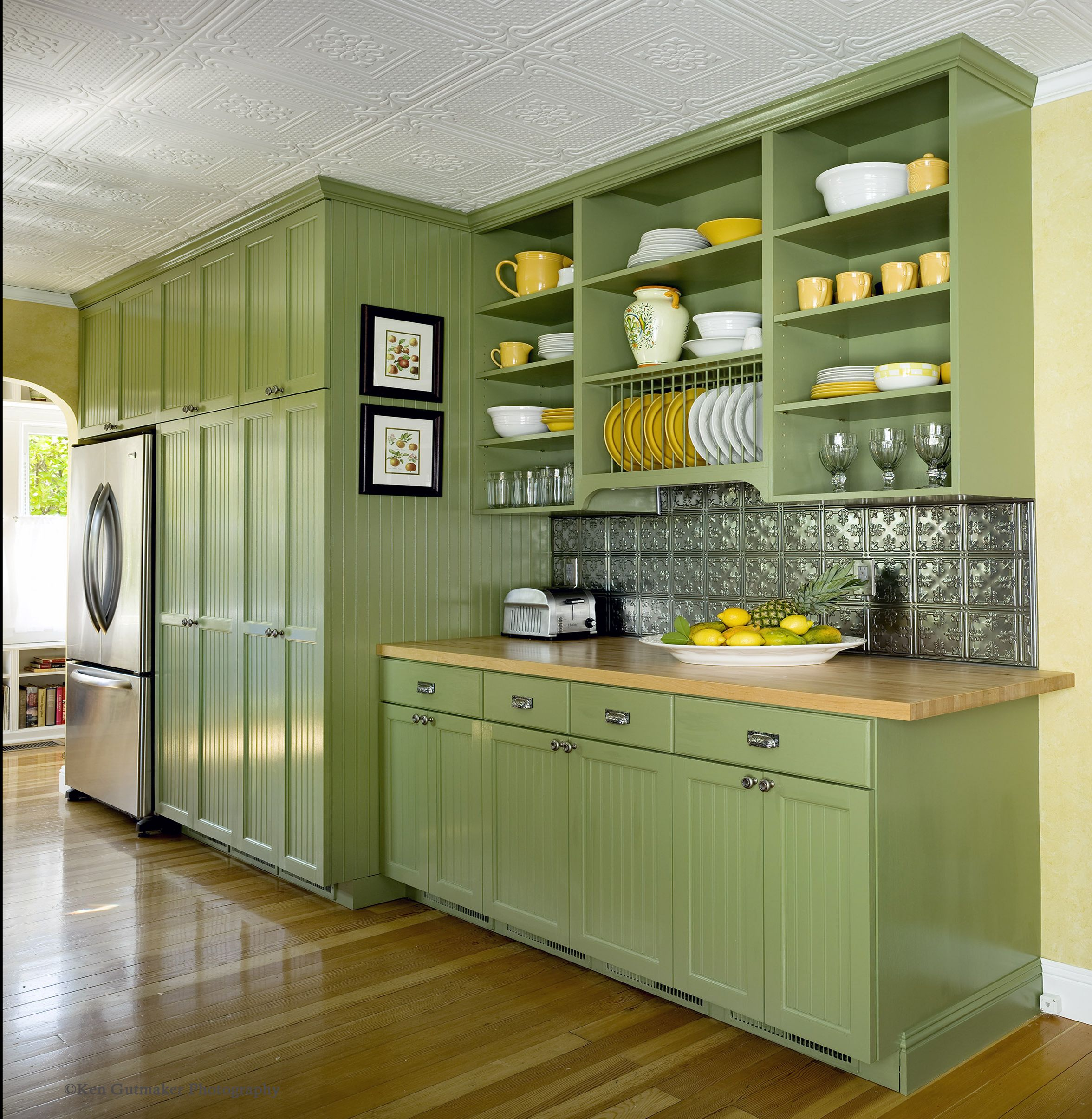 The Seven Sins Of Bathroom Design Green Kitchen Cabinets Light Green Kitchen Kitchen Color Green