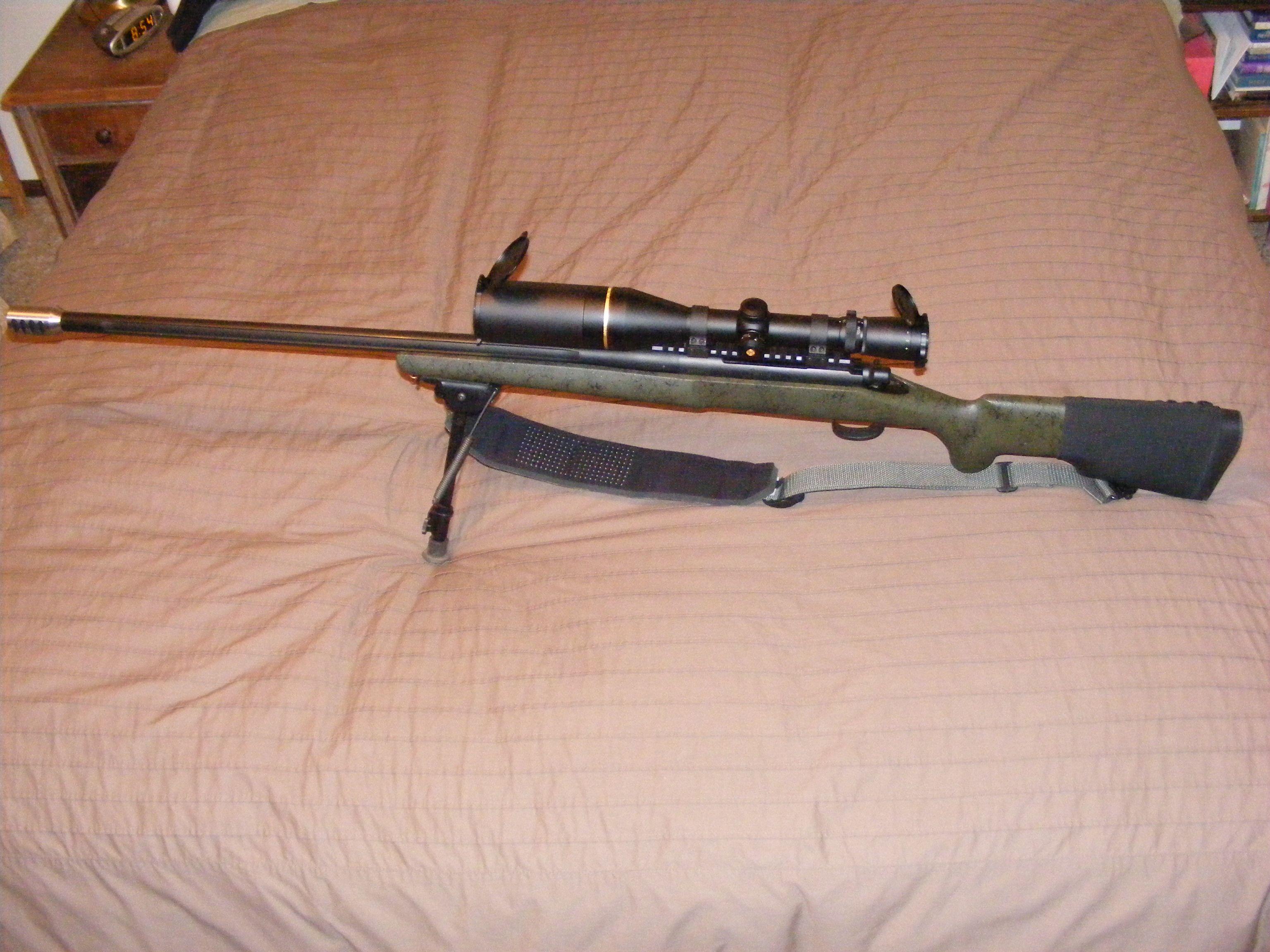 A very long range Remington 700, 300 win mag, Leupold VX-3 4 5