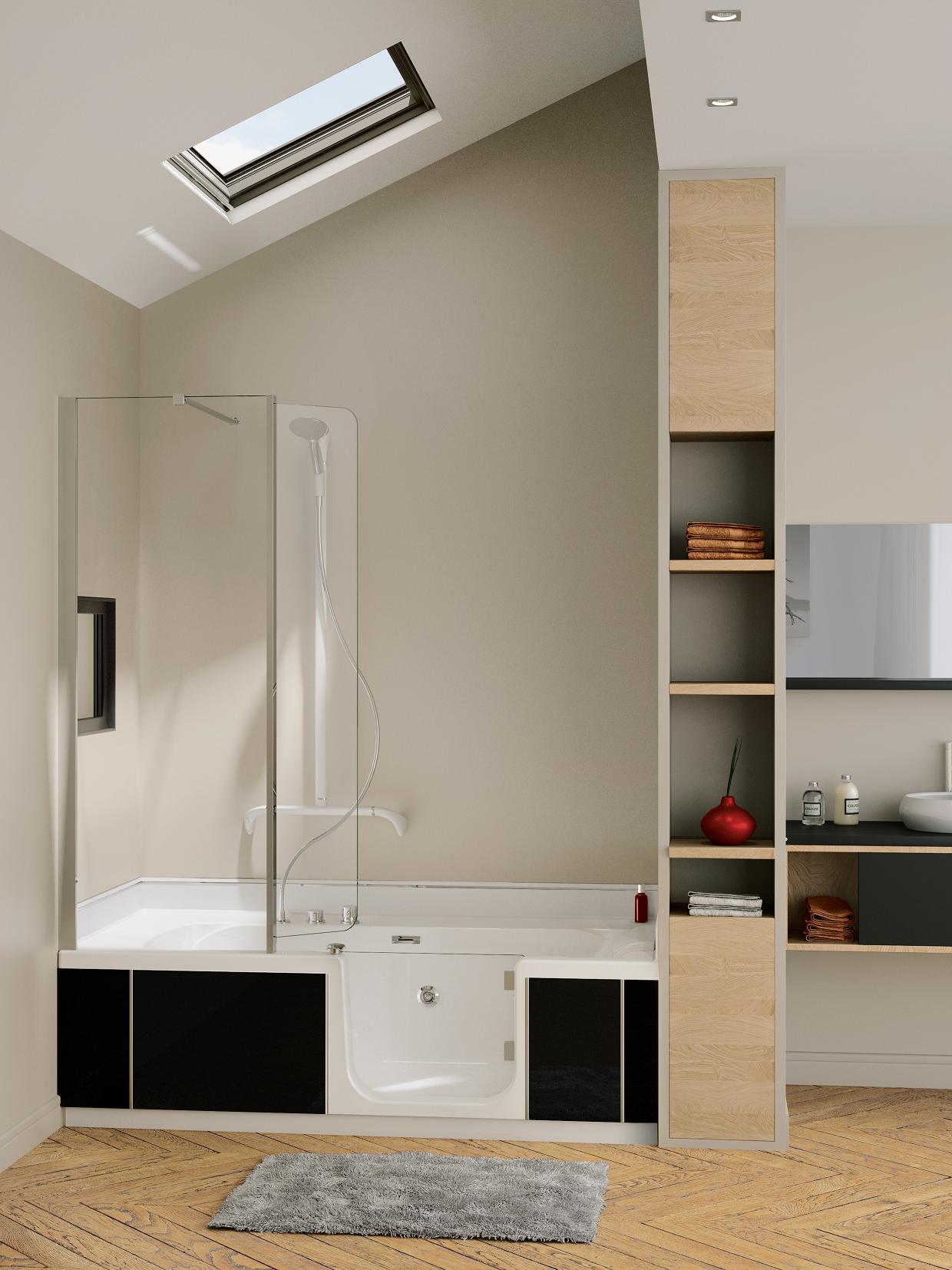 kinedo duo douche bad combinatie product in beeld startpagina voor badkamer idee n uw. Black Bedroom Furniture Sets. Home Design Ideas