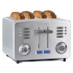 CUISINART CANADA Toasters Countdown Metal 4 Slice Toaster RBT