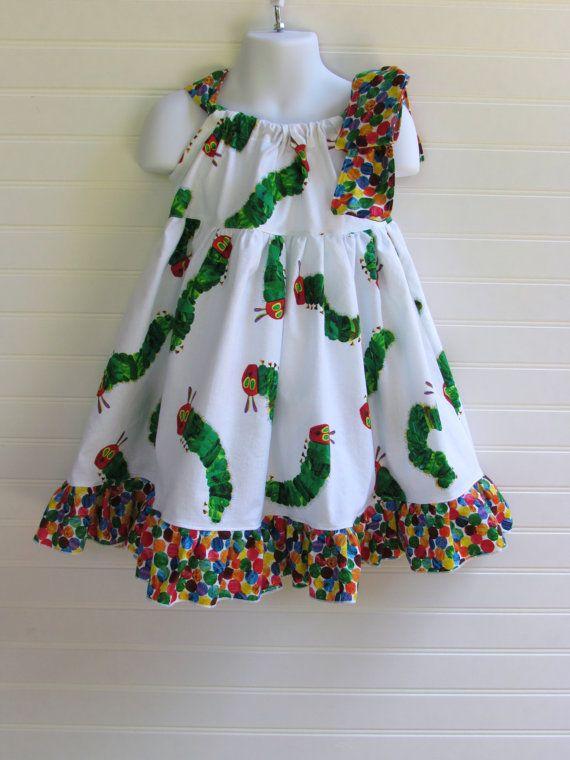 The Very Hungry Caterpillar Tutu Dress Little Girls Size 6 12 Months 2T 3T 4T 5