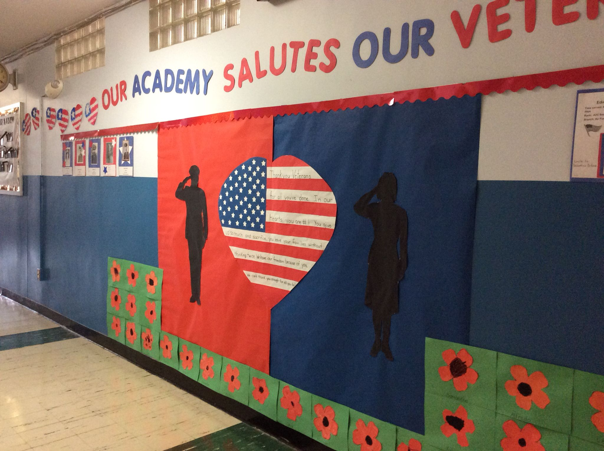 Veterans Day Bulletin Board Ideas