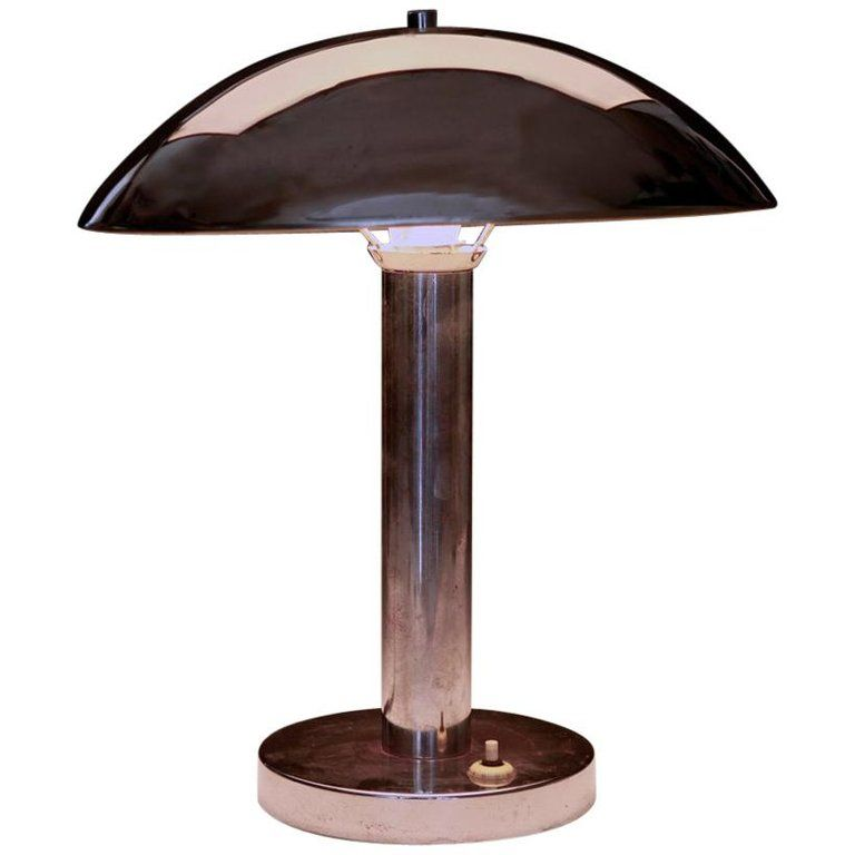 Table Lamp Art Deco Bauhaus From A Unique Collection Of Antique And Modern Table Lamps At Https Ww Vintage Table Lamp Art Deco Lamps Art Deco Table Lamps