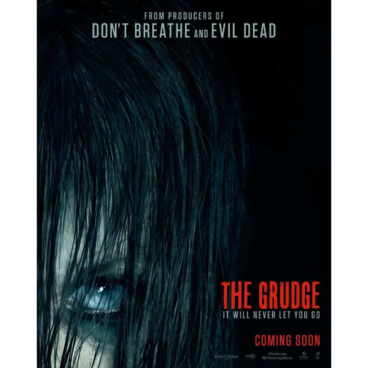 Poster The Grudge 2020 Remake 呪怨 ポスター ハリウッド