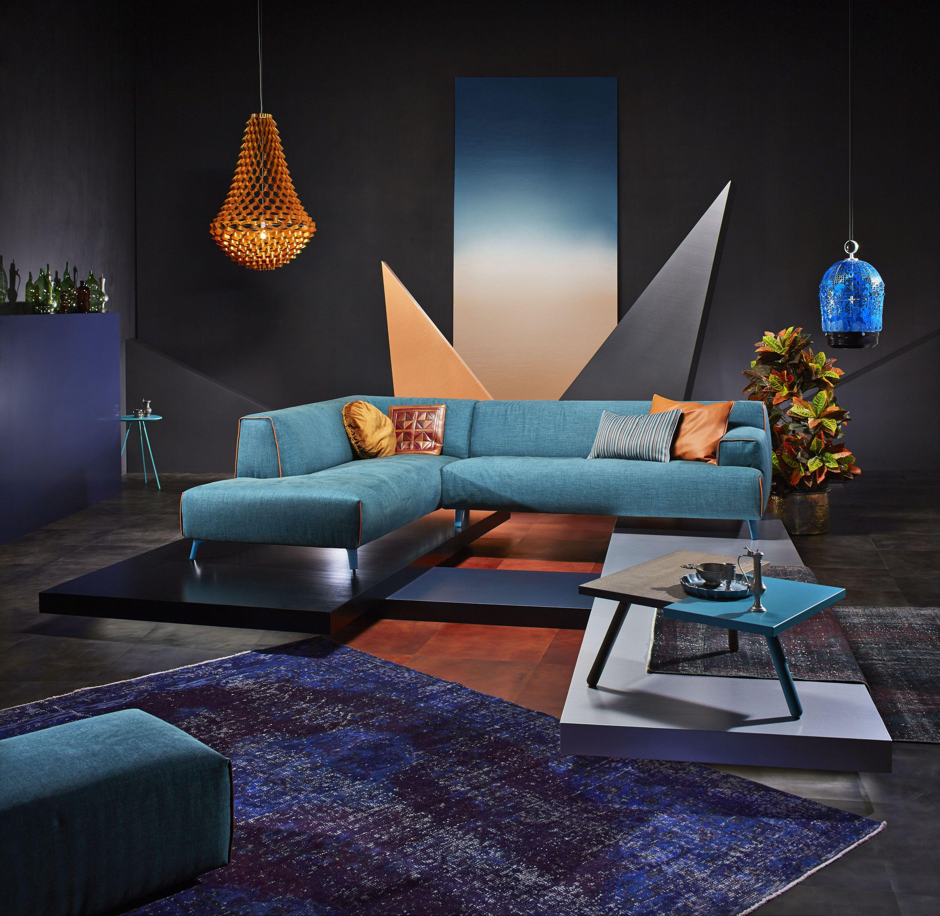 Leolux bank Oscar in showroom bij Lineo Moderne Interieurs Waalre ...