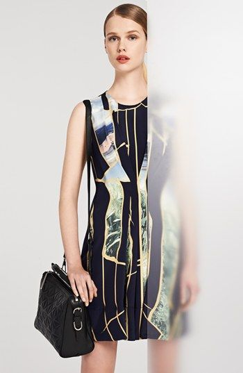 3.1 Phillip Lim Silk Dress & Accessories  available at #Nordstrom