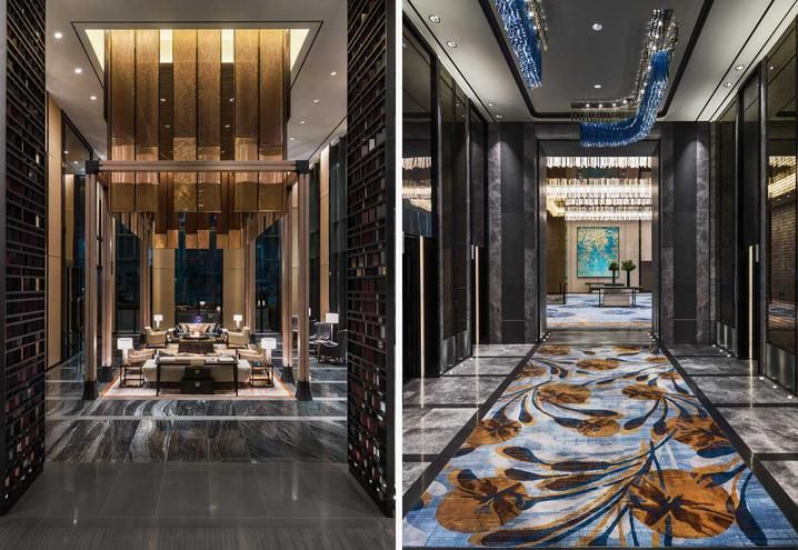 a design hotel in seoul as homage to korean traditional architecture - Traditional Hotel Interior
