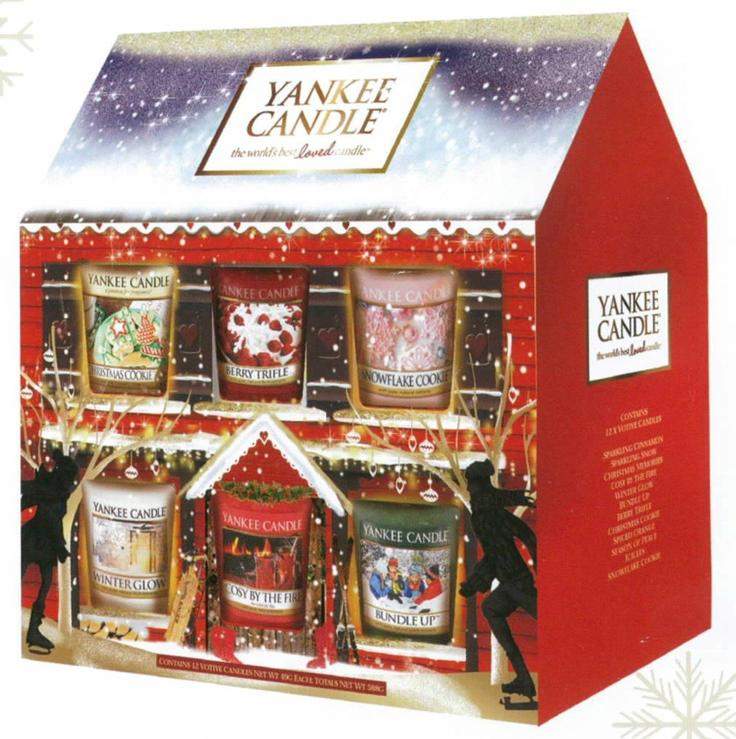 Candle Advent Calendars Yankee Candle Christmas Yankee Candle