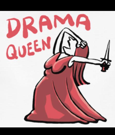 Drama Queen | Lustige sprüche, Bayrische sprüche, Sprüche