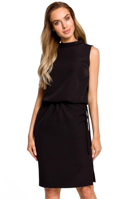 Wyjatkowa Sukienka Z Rozcieciem Na Plecach Kobieta Odziez Sukienki Sukienki Shop Fashion Black Dress Little Black Dress