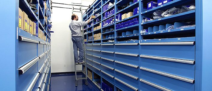 Lista Storage Wall® Systems Let You Keep Your Large And Small Items All In  One Place For Easy Location And Accessibility.