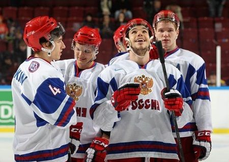 Russians Jingle Bell Rock Norwegians 11-0