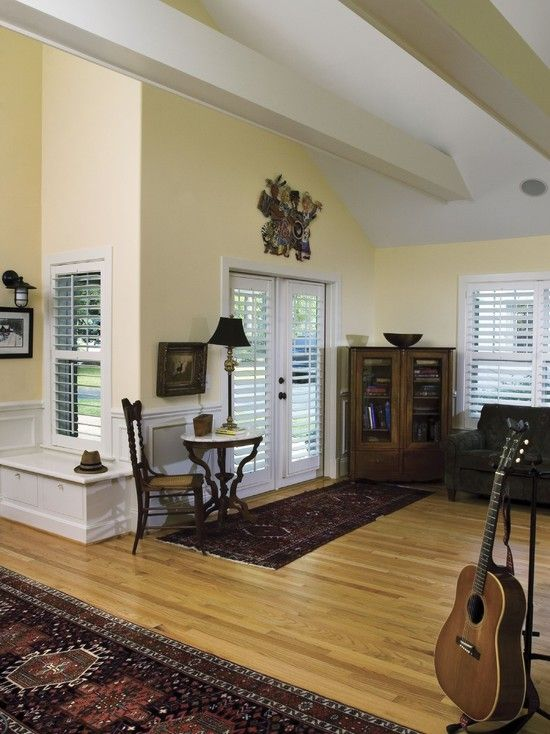Living Room White Wood Shutters Design Pictures Remodel Decor And Ideas French Door BlindsBlinds