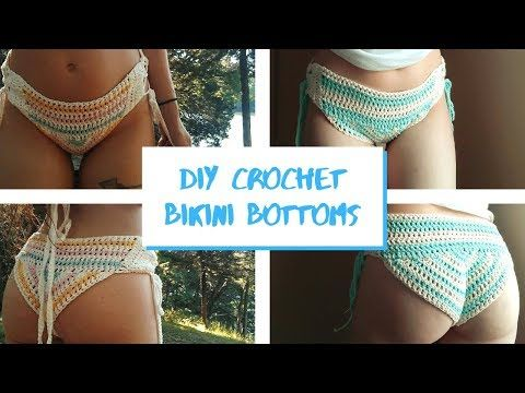 How to crochet bikini bottoms