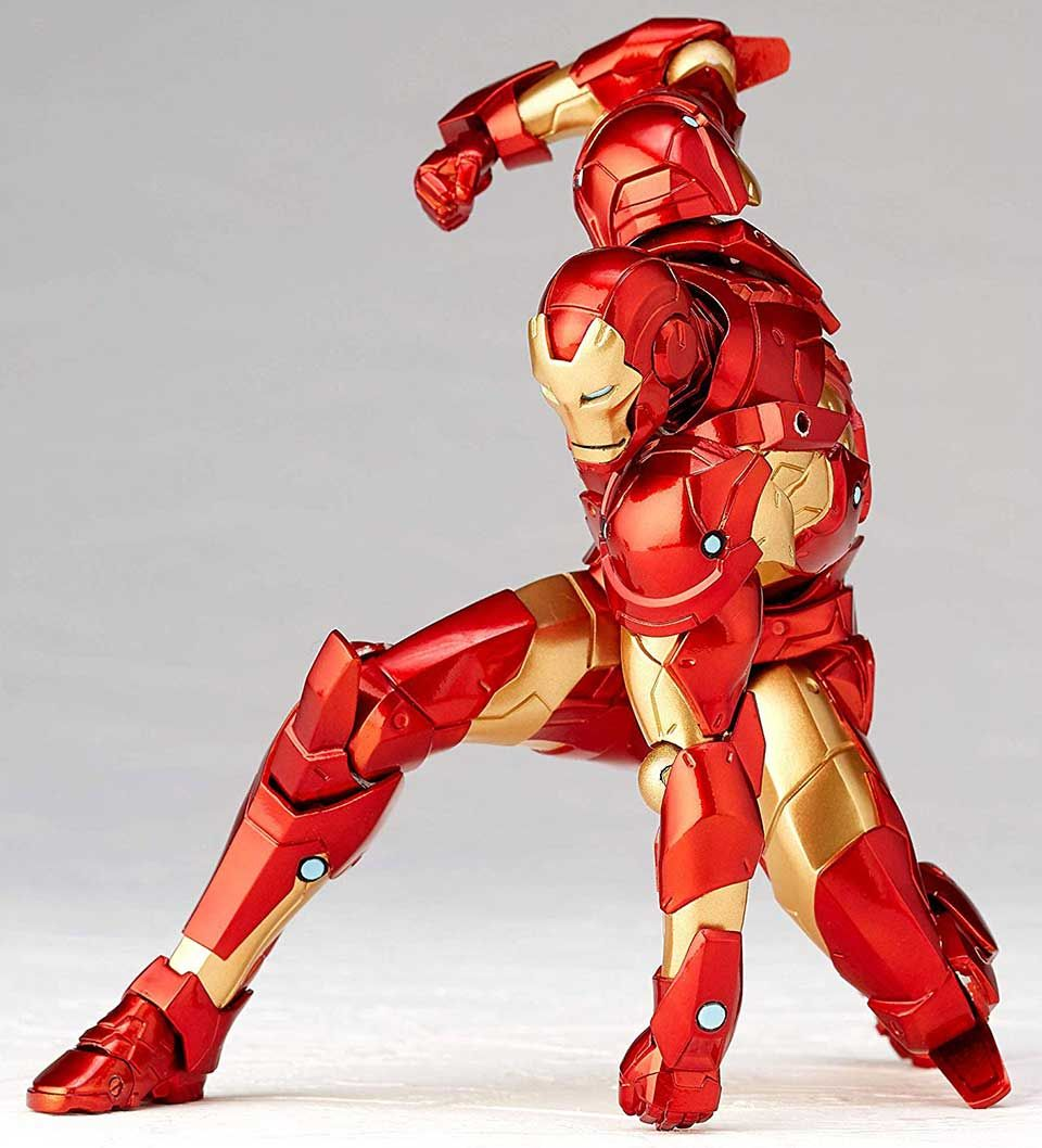 The Amazing Yamaguchi Iron Man Action Figure Is Ready For Poses Iron Man Action Figures Iron Man Action Figures