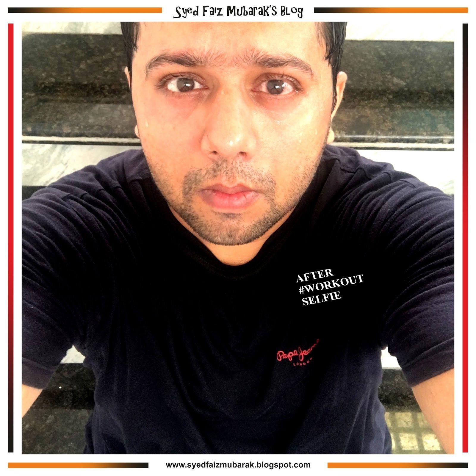 After workout selfie syedfaizmubarak mens tshirts