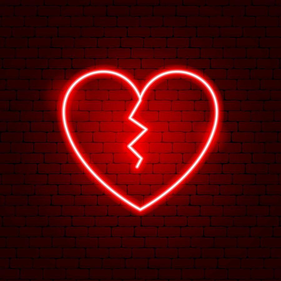 Broken Heart LED Neon Sign in 2020   Broken heart ...
