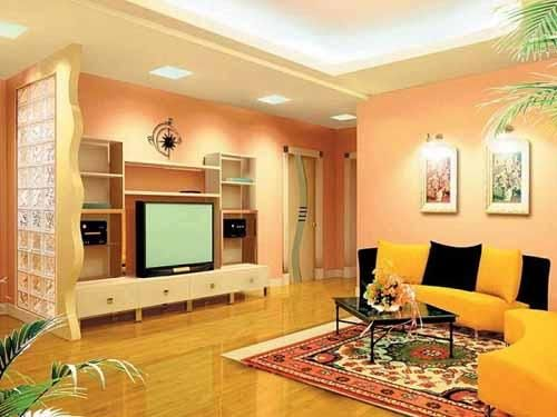 افكار ديكورات غرف جلوس مودرن صغيرة المساحة بالصور Room Color Combination Living Room Paint Living Room And Kitchen Combined