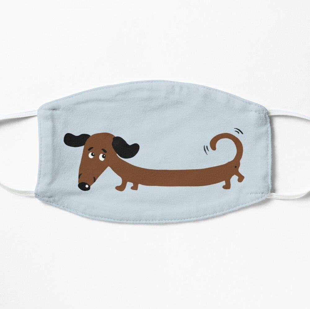 DYCBNESS Face Cover Tiere Nette und lustige Cartoon-Rasse von Hund Dackel Mops Pudel Bulldogge und Spaniel Wiederverwendbare Anti-Staub-Mund-Bandanas mit 6 Filtern