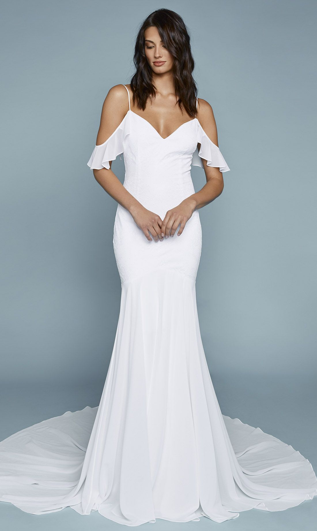 Tulum Chantilly Gown | Chantilly lace, Wedding dress and Weddings