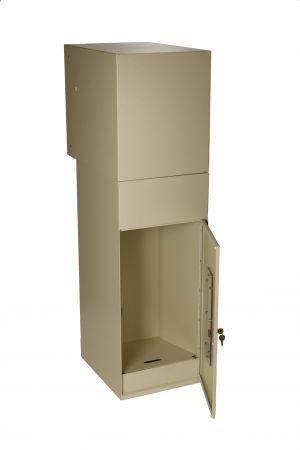 Package Drop Vault Plus Dvault Com Secure Package Mailboxes For Home Or Business Parcel Drop Box Drop Box Ideas Package Mailbox