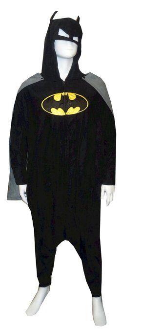 Batman Kigurumi Pajamas Onesie  84764ee22b180