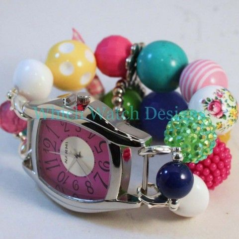 Shabby Chic Garden Party Watch Band - Which Watch Designs