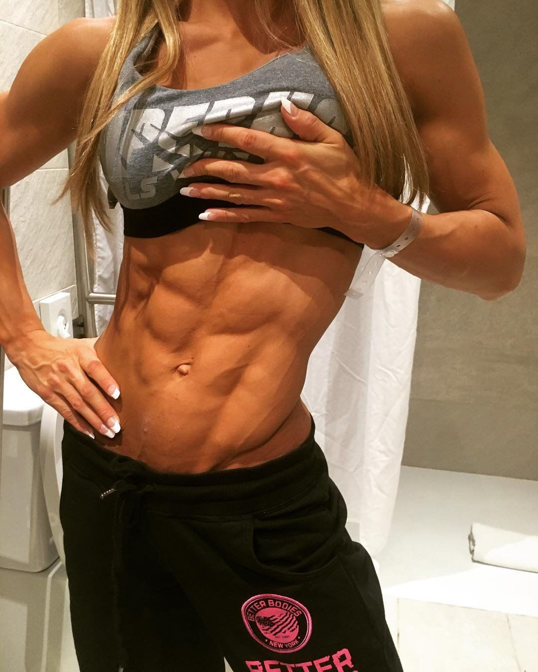 Catharina wahl fitness models female physically fit