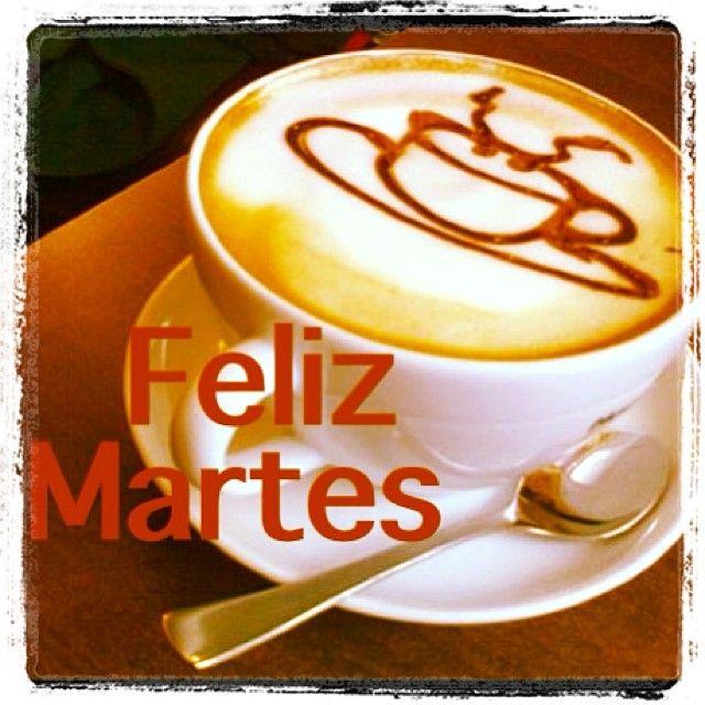 ¡Muy buenos días! Hora de comenzar el martes. ¡Feliz día!