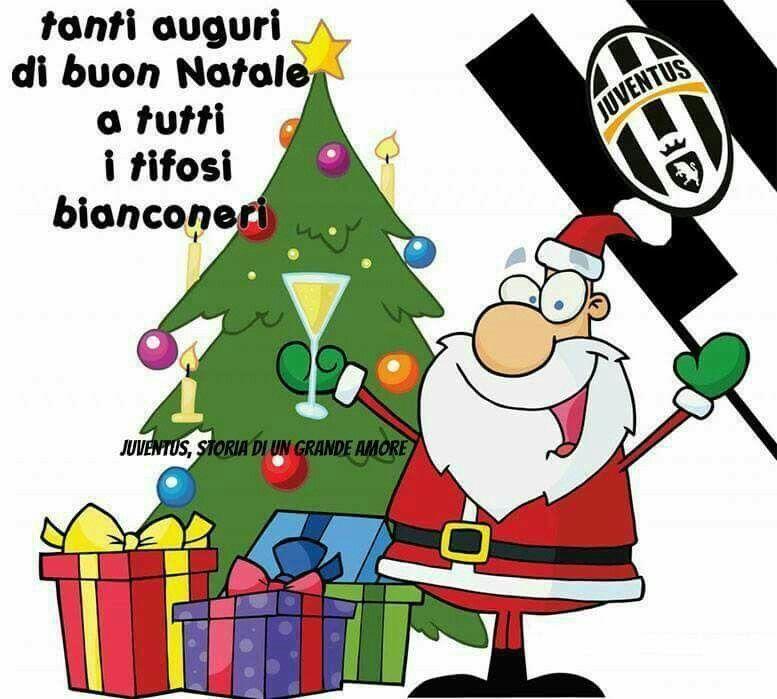 Juventus Buon Natale.Xmas Black And White Auguri Natale Natale Buon Natale