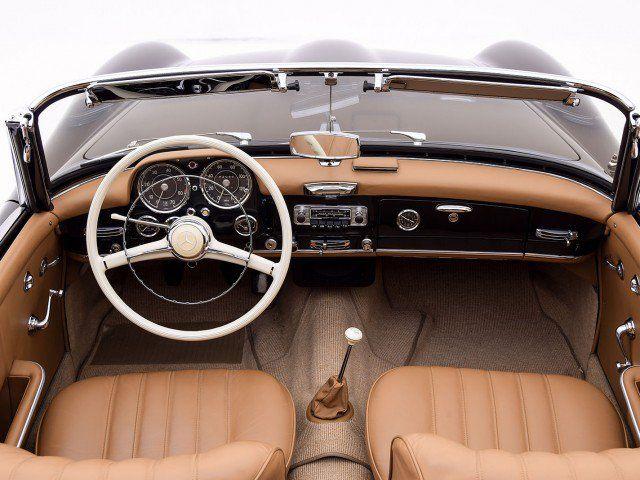 1958 Mercedes-Benz 190SL Convertible