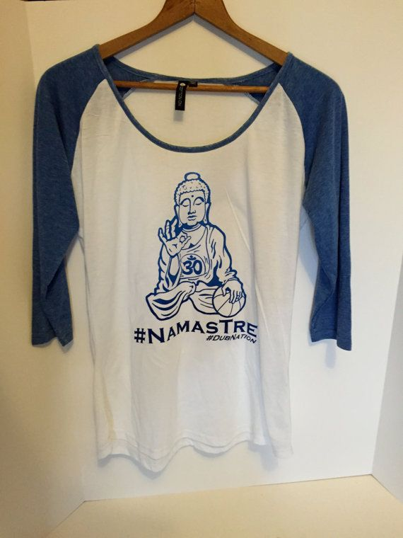 Golden State Warriors 'Namastre' shirt
