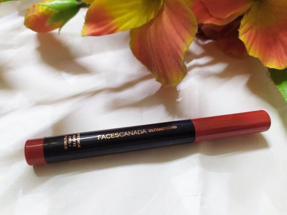 Faces HD Matte Lipstick Obsessed Review Matte lipstick